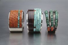 Charles Loloma cuffs