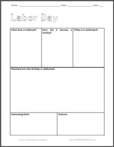 This is a picture of Enterprising Labor Day Word Search Printable