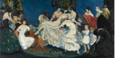 Spanish Art Deco Artist Federico Beltrán Masses (1885-1949) ~ Blog of an Art Admirer