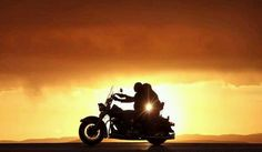 There is nothing in this world that is better than sharing summer motorcycle ride into a sunset with someone you love