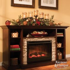 Find Your Center~ Centering your seasonal decorations in the shape of a pyramid will give your display a clean look. Place your tallest pieces at the center and surround them with shorter ones. Furniture Styles, Furniture Design, Christmas Crafts, Christmas Decorations, Christmas Ideas, Xmas, Living Room Orange, Interior Decorating, Decorating Ideas