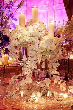 Fairy Tail Wedding | Can't go Wrong with Orchids |