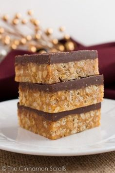 Crispy, chewy, peanut buttery, chocolatey deliciousness all wrapped up in a neat little bar! Perfect for holiday dessert trays, sharing with family and friends, and generally making your life better. These Crispy Chocolate Peanut Butter Bars are my family's go-to Christmas treat! My family has many Christmas traditions, and I am a firm believer in …