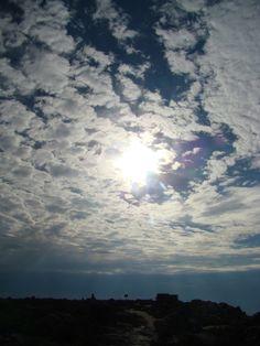 Sky over Table Mountain