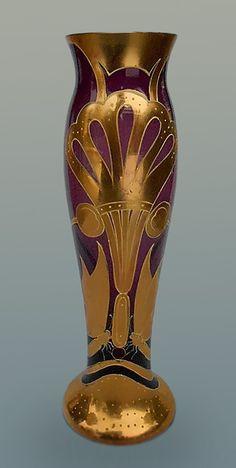Art-Nouveau-Czech-Amphora-vase