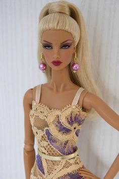 Muñecas Modelo Sunny Integrity Toys Fashion Royalty Fr Nu Face Color Infusion Jem Doll Body Latino Muñecas Modelo Y Accesorios