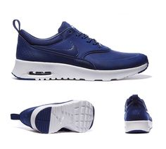 Nike Womens Air Max Thea Premium Trainers Loyal Blue White S92399