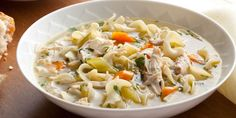 Go beyond your run-of-the-mill store-bought chicken noodle soup and make Tyler's version, loaded with vegetables, herbs, egg noodles and chunks of chicken. Plus, make your own super-flavourful chicken stock with Tyler's handy guide.