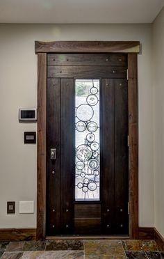Lovely Glass Panel Entry Doors