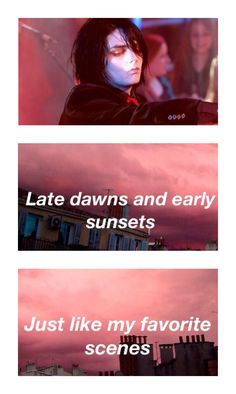"""""""Early Sunsets Over Monroeville"""" - My Chemical Romance"""