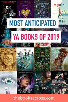 Most Anticipated Young Adult Books in 2019 adult books Mid-April Wrap Up & 20 of the Most Popular Young Adult Novels so far in 2019 - The Books Across Ya Books, Good Books, Books To Read, Teen Books, Amazing Books, Reading Lists, Book Lists, Thriller, Reading Challenge