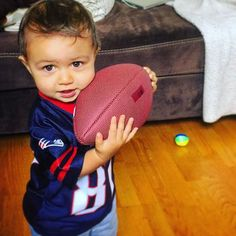 Throw me the fade! #LilPatsFans #Patriots