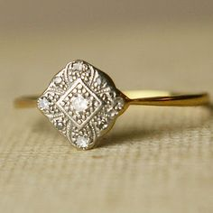 Antique engagement ring, http://www.etsy.com/transaction/60060137