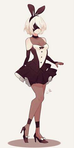 Nier Automata art,so cute. Cute Anime Character, Character Art, Character Design, Nier Characters, Manga Sexy, Anime Art Girl, Cute Art, Fantasy Art, Kawaii