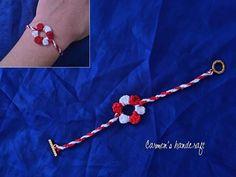 8 Martie, Rakhi, Crochet Baby, Crochet Projects, Elsa, Crochet Necklace, Beauty, Jewelry, Style