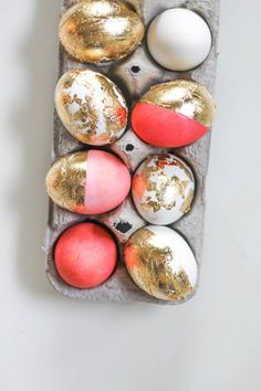 Golden (and pink) eggs.