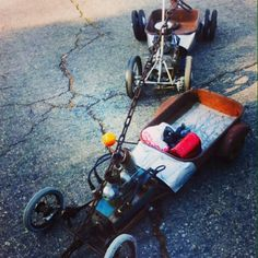 Swap meet wagon