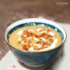 Κρύο! Καιρός για... τέλεια βελουτέ με κάστανο και κολοκύθα! Kai, Pumpkin Soup, Cooking Time, Cheeseburger Chowder, Greek Recipes, Food, Gourmet, Butternut Squash Soup, Squash Soup