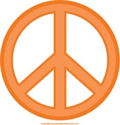 Peace Sign Clip Art | Fun and Free Peace Sign Clipart | My Peace ...