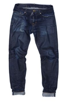 Machine & Hand sewn jeans from Backyard Denim www.backyarddenim.com