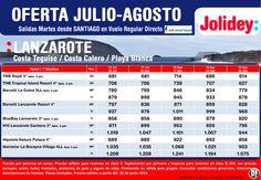 Oferta Lanzarote (Costa Teguie/Playa Blanca/Costa Calero) Jul-Ago, desde SCQ--Air Nostrum desde 614€ ultimo minuto - http://zocotours.com/oferta-lanzarote-costa-teguieplaya-blancacosta-calero-jul-ago-desde-scq-air-nostrum-desde-614e-ultimo-minuto/