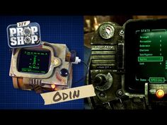 On the latest episode of the AWE Me show DIY Prop Shop, host Odin Abbott demonstrates how to build your own version of the Pip-Boy from Fallout Fallout Cosplay, Fallout Costume, Fallout Props, Cosplay Tutorial, Cosplay Diy, Cosplay Ideas, Costume Ideas, Make Your Own, Make It Yourself