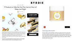 LALICIOUS Sugar Coffee Sugar Scrub was featured on Byrdie as a way to recover from Daylight Savings time. (Seriously, your skin will thank you!)