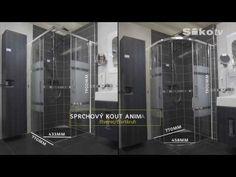 Sprchový kout Anima TEX Lockers, Locker Storage, Cabinet, Furniture, Home Decor, Clothes Stand, Decoration Home, Room Decor, Closet