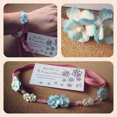 ✔ Bellas Papillon Festival Floral Flower Garland Crown Headbands ( zoeclaire ) | eBay