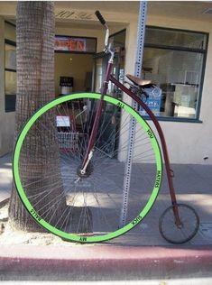 HAHA. Aero rims, riser bars, a brooks saddle, and a ridiculous color scheme. Out of control.