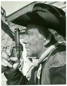 Cameron Mitchell as Uncle Buck Cannon on The High Chaparral TV Series from the 1960s
