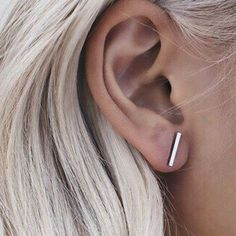 rosegal | simple stud earrings