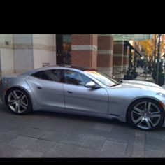 Fisker in Candy Red perhaps?