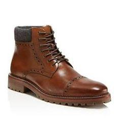 Johnston & Murphy Karnes Cap Toe Boots
