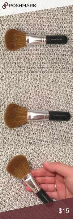 BareMinerals flawless face brush Used twice using the bare minerals all over warmth powder but sanitized and in perfect condition! bareMinerals Makeup Brushes & Tools