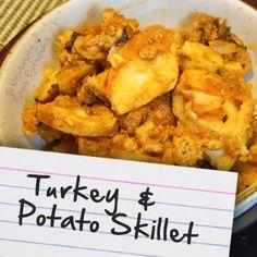 Recipes for Diabetes: Turkey & Potato Skillet