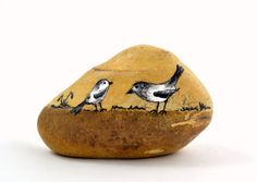 Hand+painted+stone.+Home+decor.+Painted+rock+art.+by+SiiiECO,+$15.00
