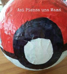 pokebola-piñatasdiy Pokemon, Bat Signal, Superhero Logos, Painting, Diy Decorating, Crafts To Make, Painting Art, Paintings, Painted Canvas