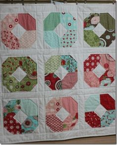 Charming Lucy quilt pattern. Hmmmm...might be my next project. Super cute and easy!