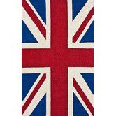 Found it at Wayfair - Chelsea Union Jack Red Novelty Rug