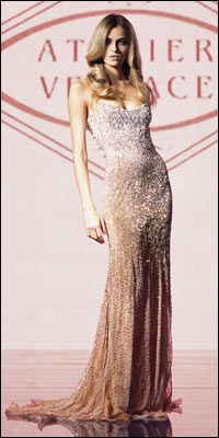 Versace Atelier Haute Couture, Anne Hathaway please wear this someday with your pixie cut