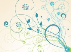 Flourish Swirl Brushes #adobe #photoshop #brush #swirl #free