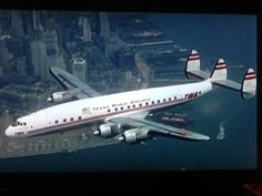 Lockheed Constellation  On 6/24/1965, I flew from Philly to Chicago in one of these. This was also my first time flying.