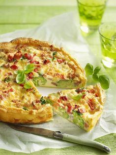 Een overheerlijke quiche met brugge blomme en groenten, die maak je met dit recept. Smakelijk!