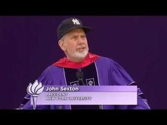 NYU President John Sexton officiated at NYU's 179th Commencement in Yankee Stadium, May 18, 2011. Some 8,000 students receiving undergraduate, graduate, and professional degrees, and 25,000 guests attended the morning ceremony, which was also attended by alumni, faculty, and other NYU community members. http://www.nyu.edu/life/events-traditions/commencement.html