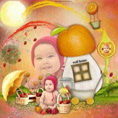 caperucita naranja Red Riding Hood, Birthday Cake, Orange, Birthday Cakes, Little Red, Cake Birthday