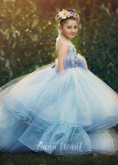 Step into the luxurious world of little girls gowns by Anna Triant Couture and experience the magic of innovative style in every perfect stitch. Little Girl Gowns, Gowns For Girls, Girls Dresses, Flower Girl Dresses, Princess Dresses, Dress Girl, Flower Girls, Formal Dresses, Descendants Costumes