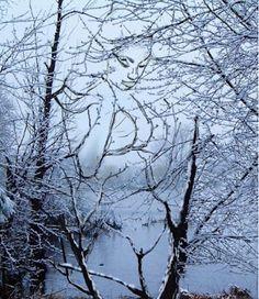 Snow Girl Illusion