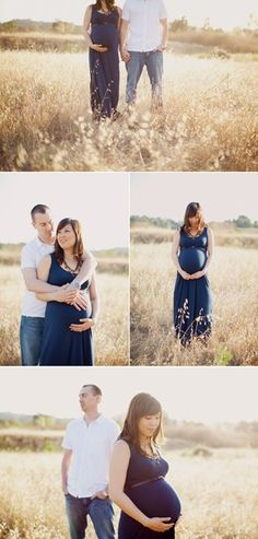 "#Tip - what to wear for maternity photos - darker colors will help you and your belly ""pop"" from light backgrounds like this."