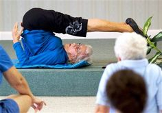 91-year-old yoga teacher asks, 'Why should I quit?'    Click the link to view the story:  http://today.msnbc.msn.com/id/45484875/ns/today-today_health/#.ULMYheRfGyo